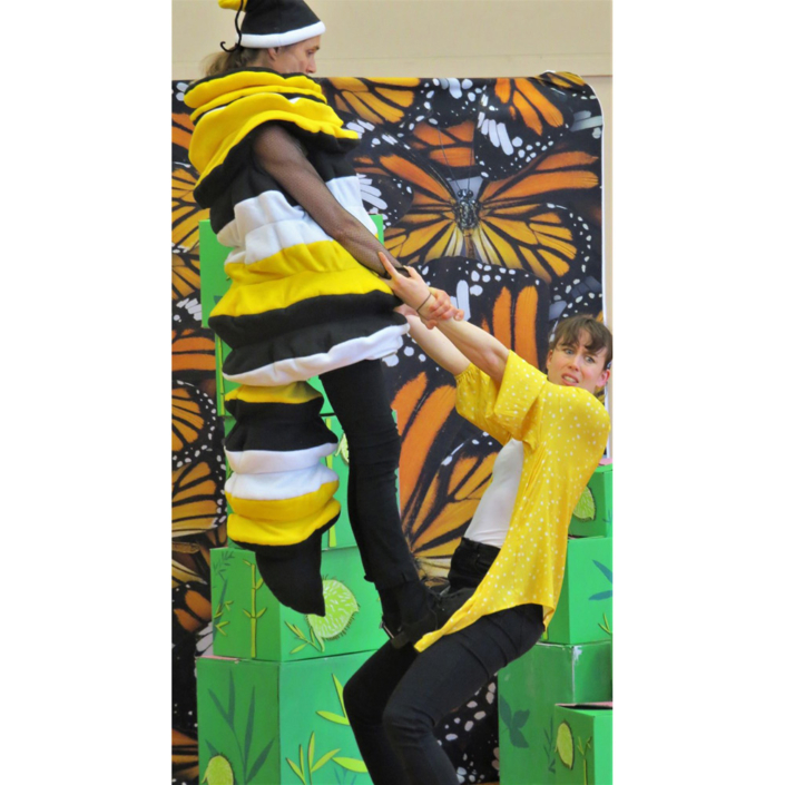 Monarch school show - physical theatre, comedy